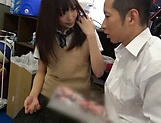 Astonishingly sexy Ootori Kaname blows a hard cock picture 11