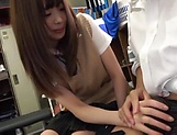 Astonishingly sexy Ootori Kaname blows a hard cock picture 14