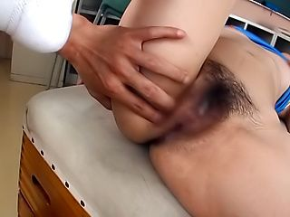 Schoolgirl Aihara Tsubasa enjoys a big dick in her cherry