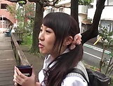 Japanese schoolgirl likes to have sex picture 11
