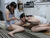 Japanese hotties are sharing passion together picture 15