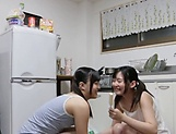 Japanese hotties are sharing passion together picture 2