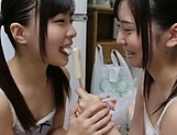 Japanese hotties are sharing passion together picture 8