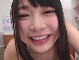 Japanese schoolgirl had POV sex session picture 7