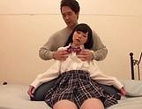 Japanese schoolgirl had hardcore sex
