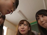 Japanese schoolgirl is having group sex picture 6