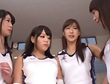 Hot Asian schoolgirl gets her wet muff drilled hard picture 8