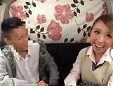 Sassy schoolgirl excels in her cok sucking picture 11