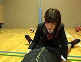 Petite Japanese schoolgirl sucks dick picture 13