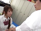 Arihara Ayumi likes it doggy- style now picture 8
