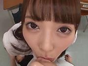 Igarashi Seiran got a creampie at school