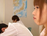 Sweet Aise Miki falls for teacher's sexual proposals  picture 6