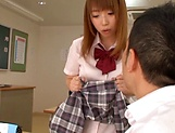 Sweet Aise Miki falls for teacher's sexual proposals  picture 9