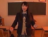Voluptous schoolgirl Wasa Yatabe gets a good bonk