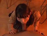 Sultry Japanese angel Wasa Yatabe gets a wild session