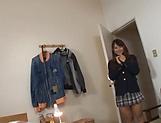 Hot schoolgirl is fucking for free