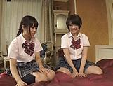 Fisting session involving spicy Suzumi Misa and Inamura Hikari picture 12