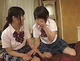 Fisting session involving spicy Suzumi Misa and Inamura Hikari picture 13