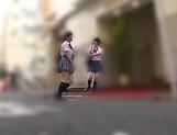 Fisting session involving spicy Suzumi Misa and Inamura Hikari