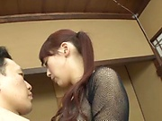 Aine Maria fucked hard in her sweet Japanese pussy