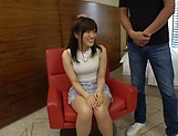 Ishimi Chiharu rewards a dude with a blowie picture 13