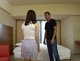 Ishimi Chiharu rewards a dude with a blowie picture 15
