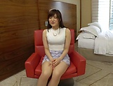 Ishimi Chiharu rewards a dude with a blowie picture 2