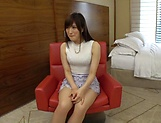 Ishimi Chiharu rewards a dude with a blowie picture 5