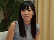 Superb vixen Konno Amina awesome pussy poking