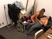 Sexy milf worthwhile pussy slamming indoors