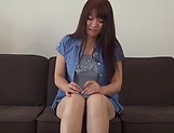 Asa Hikaede gets a messy cum on tits picture 12