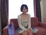 Tiny tits amateur Rina Ebina ravished by a big dick picture 3