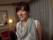 Ishimi Chiharu pleasured with an erotic fingering