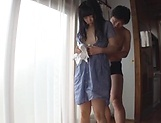 Sweetie Nagomi gets wild with lad on the floor picture 12