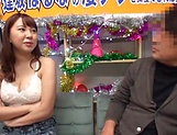 Busty Japanese woman is having wild sex picture 12