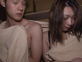 Naughty Mei Matsumoto gets creamed after a dick ride picture 11
