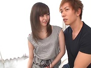 Kishi Yuuki Japanese college porn in the bedroom