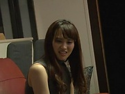 Katase Yui performs a pleasurable blowjob