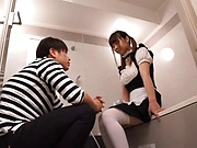 Hinagiku Tsubasa gets her wet cunt screwed by her boss