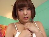 Sakura Kizuna ,does a kinky cum swallowing picture 11