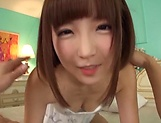 Sakura Kizuna ,does a kinky cum swallowing picture 14