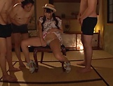 Eri Natsume Squirting brunette MILF, Yumi Aida fucked and cum-served picture 6