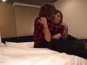 Darling babe, Aika, gets a worthy creamed pussy
