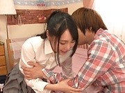 Hot teen love gets a wild hardcore drill while in wet clothes
