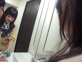 Shuri Atomi enjoys having her twat teased good