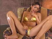 Shien Fujimoto plays with sex toys before a bj