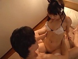 Sexy hot Asian Eri Natsume getting banged well