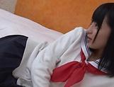 Mesmerizing teen cutie Aya Akiyama likes flaunting her cunt
