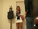 Japanese blonde got nailed for cash