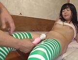 Succulent Asian bimbo Nagomi erotic stimulation
